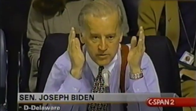 Joe Biden wants to ban raves and hates EDM in old resurfaced CSPAN video.