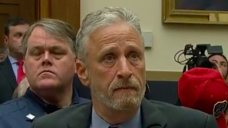 You Know That 9/11 Bill Jon Stewart Has Been Fighting For? Congress Passed The Sh*t Out Of It