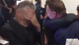 Get Ready To Cry Because This Video Of The FDNY Honoring Jon Stewart Is A DOOZY