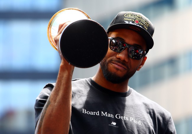 Kawhi Leonard is reportedly only focused on the Los Angeles Clippers and Toronto Raptors in free agency this summer