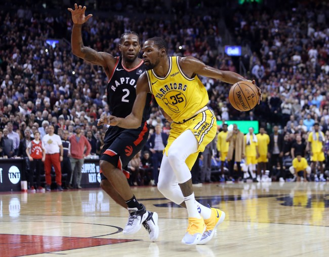 A 2014 tweet from Kevin Durant about Kawhi Leonard could derail the two teaming up this summer