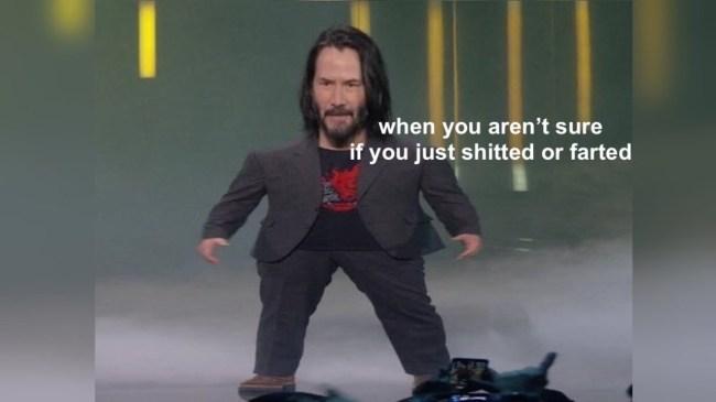 best mini keanu reeves memes