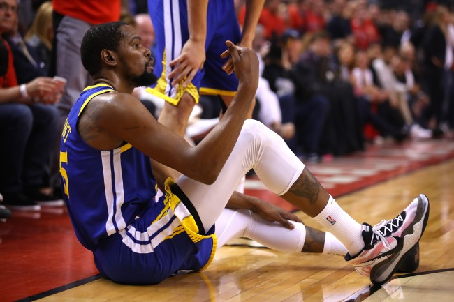 Despite his Achilles injury in the NBA Finals, some NBA teams would reportedly still give Kevin Durant a max contract this summer.