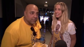 This Prank On Warriors Fans At The End Of Game 6 Is As Cruel As It Is Hilarious
