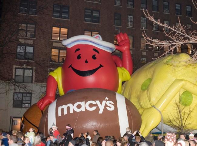 Macy's balloon inflation