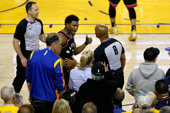 Here's the punishment handed down to the Mark Stevens, the Golden State Warriors investor who pushed Kyle Lowry in NBA Finals