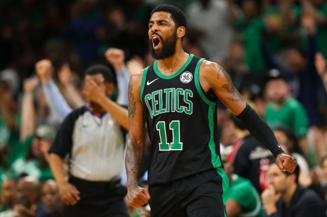 kyrie irving radio show conspiracy
