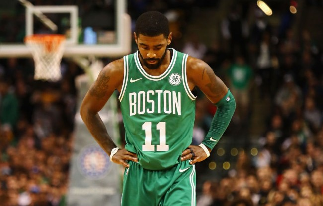 kyrie irving ghosted celtics
