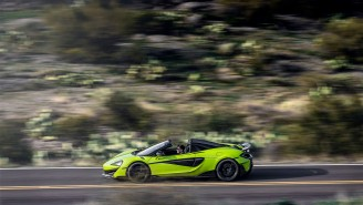 A Dude Got His Brand New $256K McLaren 600LT Spider Impounded By The Cops Within 10 Minutes Of Buying It