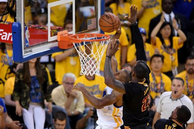 Players from the Warriors and Cavs describe their thoughts during LeBron James' iconic Game 7 block in 2016 NBA Finals