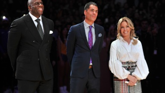 Magic Johnson Says He Was 'Sending Notes' To Lakers' Execs During Recent Anthony Davis Trade Negotiations