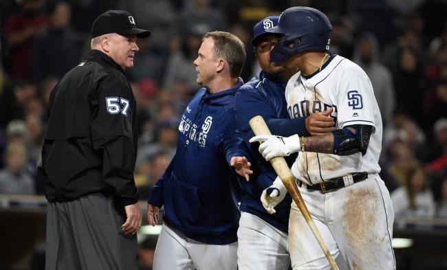 MLB Umpires Association Rips Manny Machado Major League Baseball
