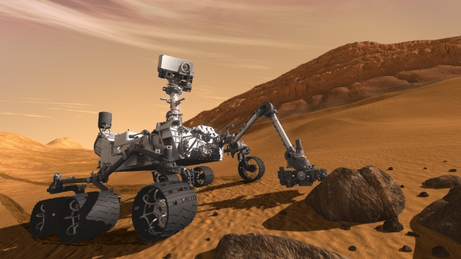 NASA's Curiosity Rover has detected high levels of methane output during its Martian mission which points to life on Mars.