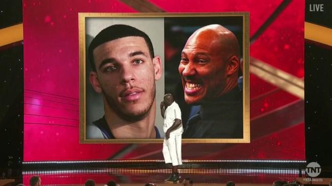 NBA Awards Shaq Burns LaVar Ball Kenny Charles Introduce New Shaq