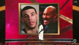 NBA Awards Show: Shaq Burns LaVar And Lonzo Ball, Kenny And Charles Introduced A 'New Shaq'