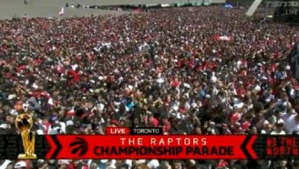 Scary Scene Unfolds During Raptors Championship Parade In Toronto After Gunshots Were Reportedly Fired