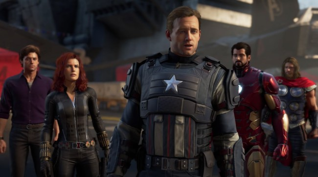 People Are Not Happy With The Look Of Marvels New Avengers Game