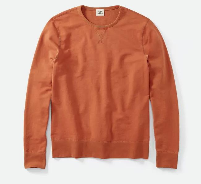Reversible French Terry Sweatshirt