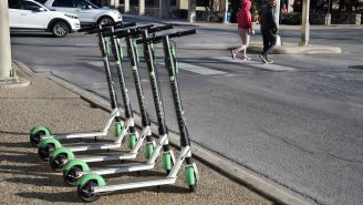Pogo Sticks Are About To Overtake Those Stupid Scooters As The Dumbest Transportation Rental Option Out There
