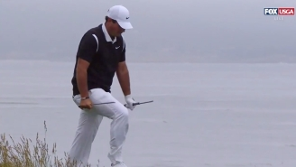 Patrick Reed Snaps Club At U.S. Open And Oh Is Twitter Reacting