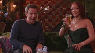 Seth Meyers Got Day Drunk With Rihanna And I've Never Been More Jealous Of Anyone