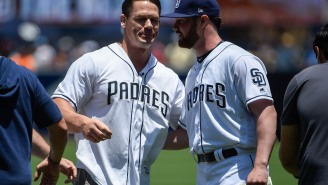 This Story About John Cena Making (And Losing) A Bet With A Padres Rookie Pitcher Is Inspirational AF