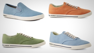 Step Out In Color With These Vibrant New SeaVees Sneakers For Summer
