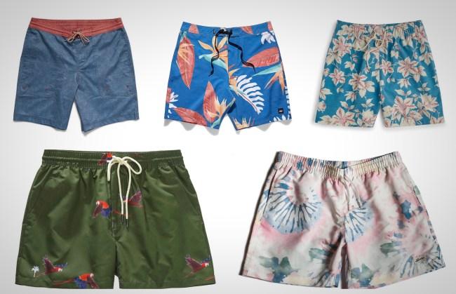 best men's swim shorts styles Summer 2019