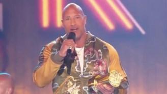 The Rock's MTV Generation Award Acceptance Speech Is Pure, Uncut Inspiration Fuel