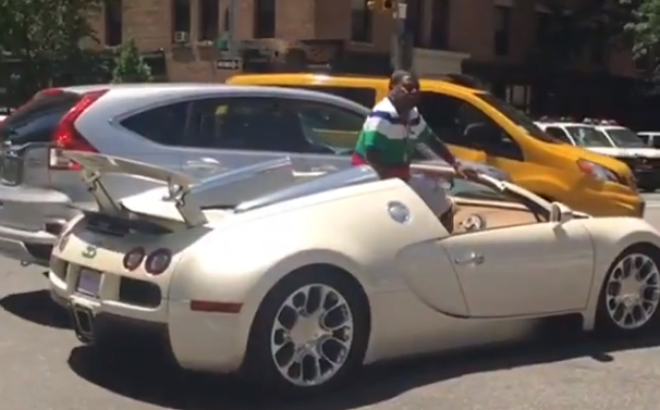 Tracy Morgan $2 million Bugatti accident NYC with Honda and video shows comedian's road rage