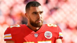 Travis Kelce Made Some Impressively Idiotic Comments Praising Kareem Hunt After The Former Chief Was Released For Kicking A Woman