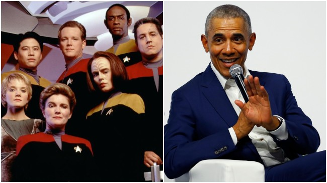 Mind-Blowing Reddit Thread Explains How A Crappy 1990s 'Star Trek' Show Got Obama Elected President