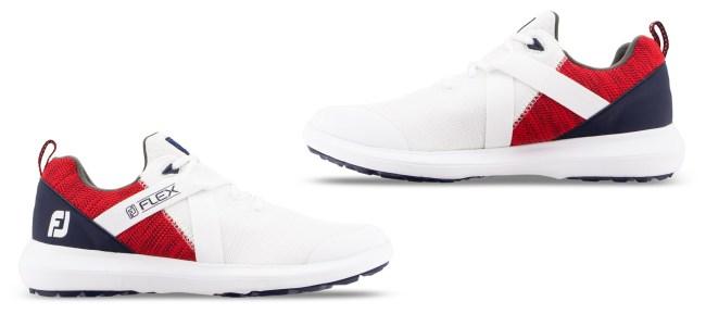 US Open scripting golf shoes foot joy