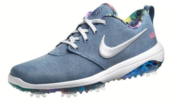 US Open scripting golf shoes nike