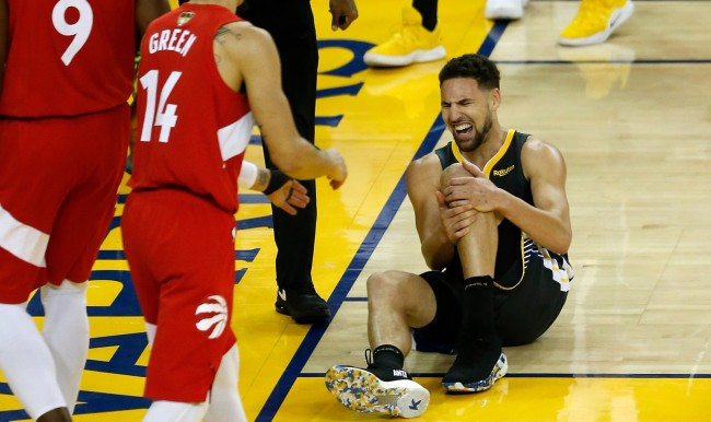 What Warriors Players Said To Danny Green After Klay Thompsons Injury
