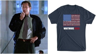Honor America & The Greatest Speech In Movie History With This 'Independence Day' Inspired Tee