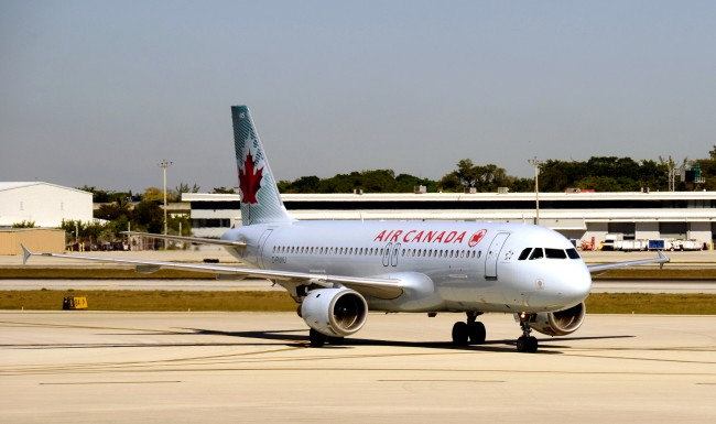 Woman Falls Asleep On Air Canada Flight Wakes Up In Empty Plane