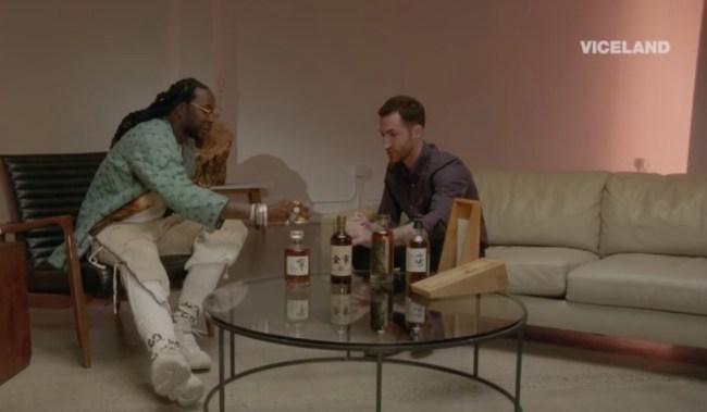 2 Chainz tastes $10,000 Japanese whiskey