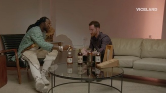 2 Chainz Tastes A $10K Japanese Single Malt Whiskey And It's Really Hurts To See Someone Else Living My Dreams