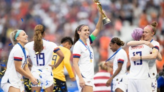 Get A Behind-The-Scenes Look At The USWNT Women's World Cup Celebration With Alex Morgan Exclusively On ESPN+