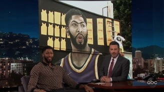 Anthony Davis Discussed His New Number, Taco Tuesdays, His Role In 'Space Jam 2' And More With Jimmy Kimmel