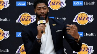 Anthony Davis Has Been A Laker For Two Seconds And Jalen Rose Already Thinks He's 'Planting Seeds' To Leave