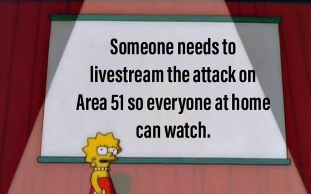 Here Are The Best Area 51 Memes After 700k People Sign Up For Event To Storm The Compound Brobible