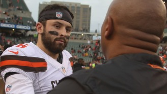 Baker Mayfield Doubles Down On Beef With Hue Jackson, Admits He Wanted 'Revenge' Against Former Coach