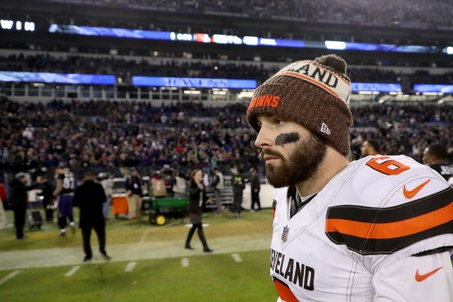 Baker Mayfield gets some advice from former No. 2 overall pick Ryan Leaf about how to take the next step in his career