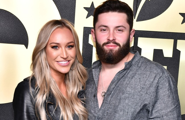 baker mayfield wife calls out browns fans