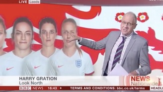 """This Is A Bit Like My Bedroom"", BBC Anchor Says While Looking At The Women's National Soccer Team"