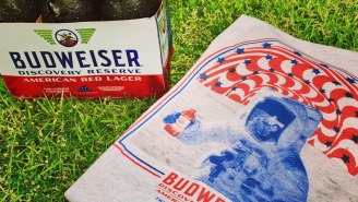 These Budweiser Space Beer T-Shirts Will Become Your Go-To Graphic Tee For The Rest Of Summer