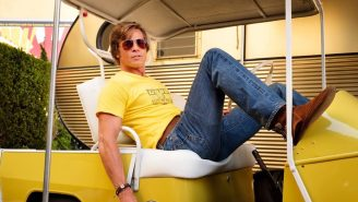 Of Course Brad Pitt Improvised One Of The Best Lines In 'Once Upon A Time In Hollywood'