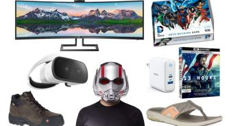 Daily Deals: Ant-Man Helmet, VR Headset, 49″ SuperWide Curved Monitor, Under Armour Sale, Columbia Clearance And More!